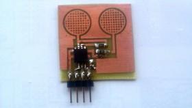 Podwójny sensor dotykowy na AVR ATTINY13