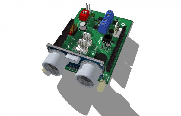 Robot Shield for Arduino UNO/Leonardo